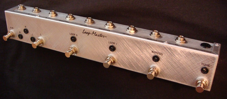 2 Looper w/Bypass & Tuner Out & ABC Outputs